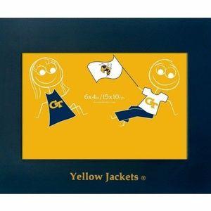 GEORGIA TECH 4x6 Yellow Jackets Picture Frame
